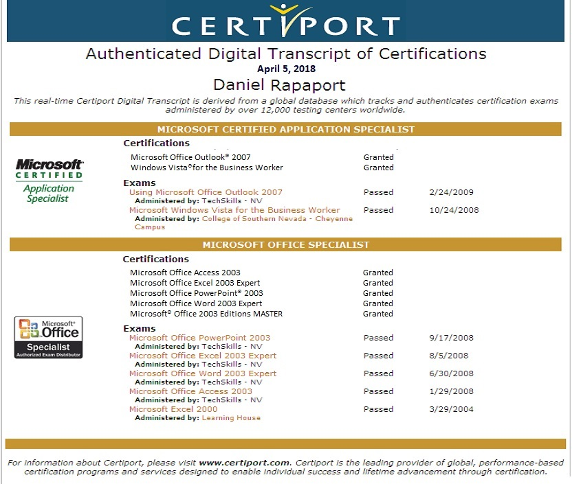 Computer Resume Asp Development Php Development Visual Basic